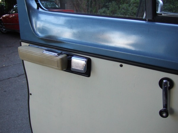 Improved door handles