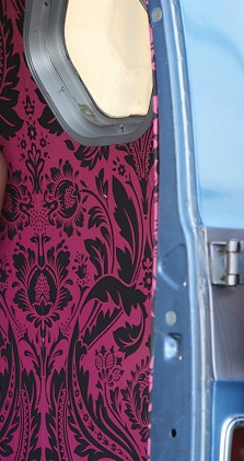 Passenger's side Damask